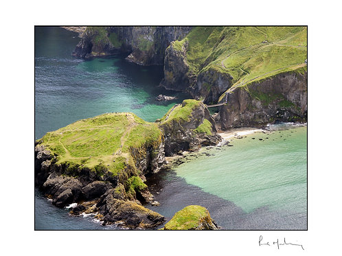 Carrickerede Rope Bridge (2) Co Antrim
