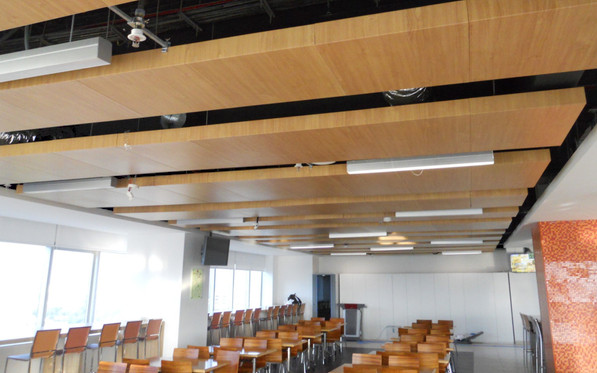 Plank Ceiling - Society Generale Bank Ba