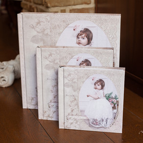 Fine Art  Baptism Album & Presentation Package
