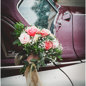 Wedding In A rainy Day