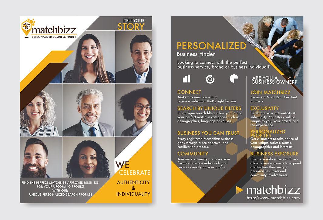 Corporate Braning, Graphic Desg Case Studies, MatchBizz