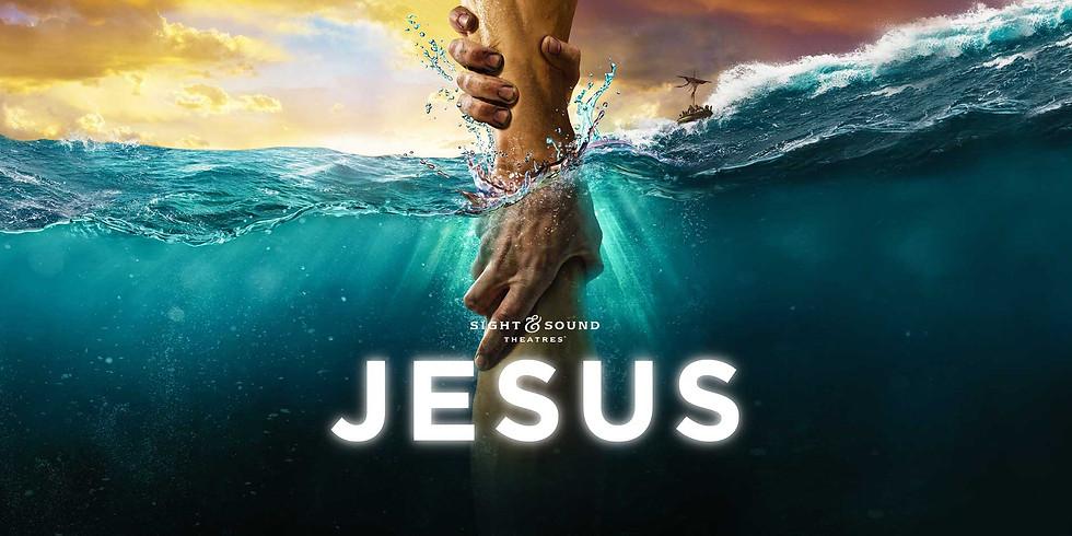 """Jesus"" at Sight & Sound Theatre"
