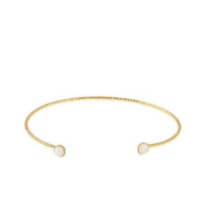 Diamantee Pastille Bracelet (Nacre)