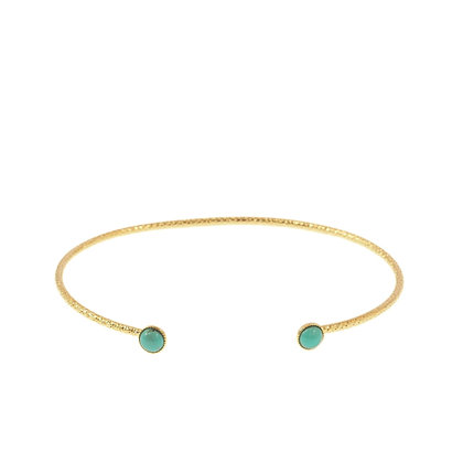 Diamantee Pastille Bracelet (Turquoise)