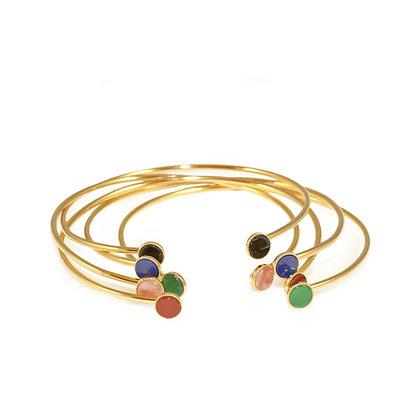 Pastille Bracelet (Malachite)