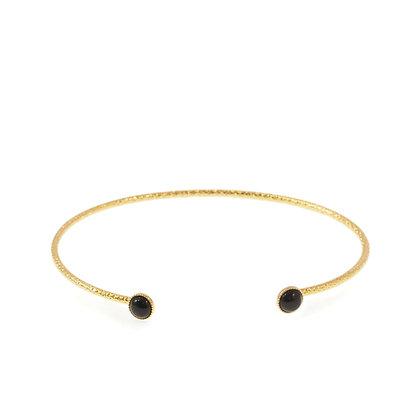 Diamantee Pastille Bracelet (Onyx)