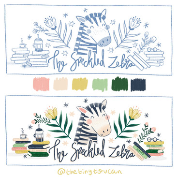the speckled zebra