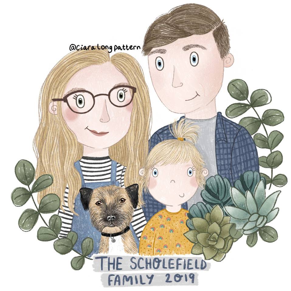 The Scholesield Family 2019