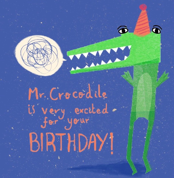 Mr. Crocodile Birthday