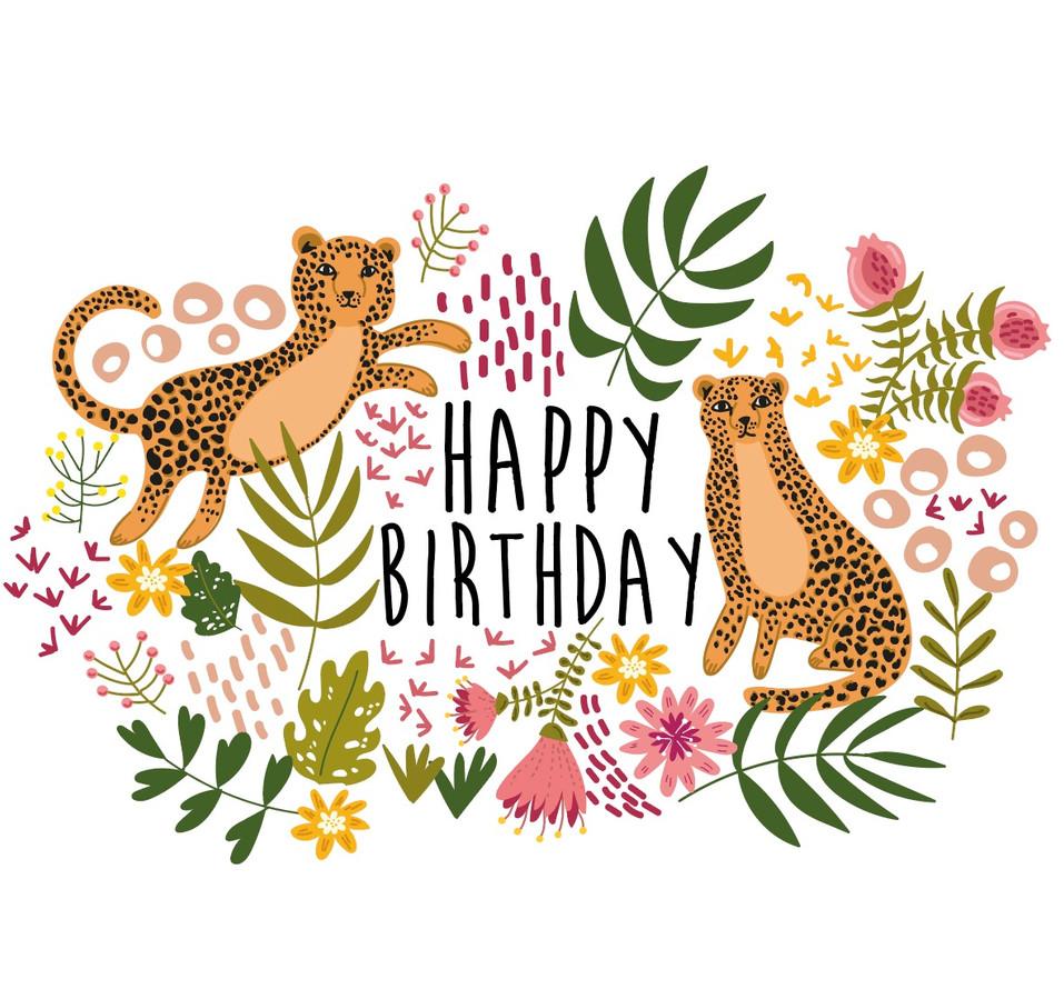 Birthday Leopards