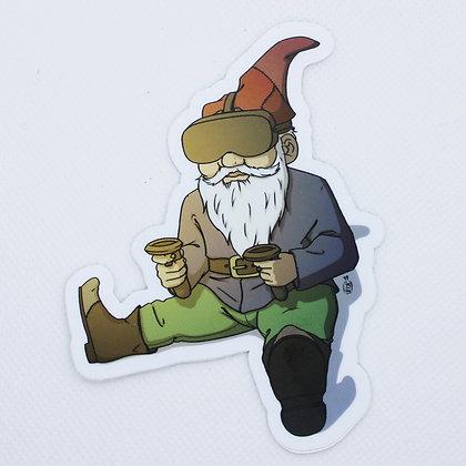 VR Gnome Sticker