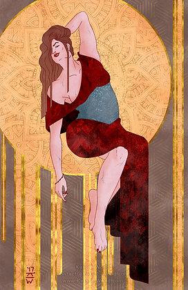 Shae Art Deco Print