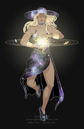 The Universe & Solar System Print