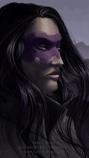 Vivian Purple Portrait