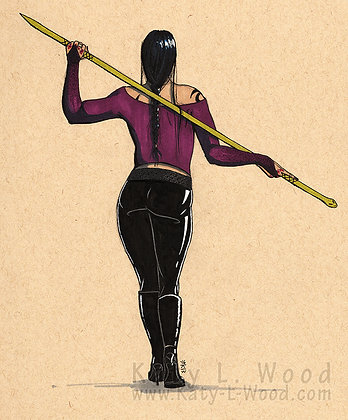 Isabelle Lightwood with Staff Original