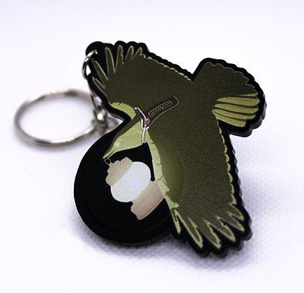 Crow: Nightmare Service Critter | Acrylic Charm | Acrylic Keychain | Keychain