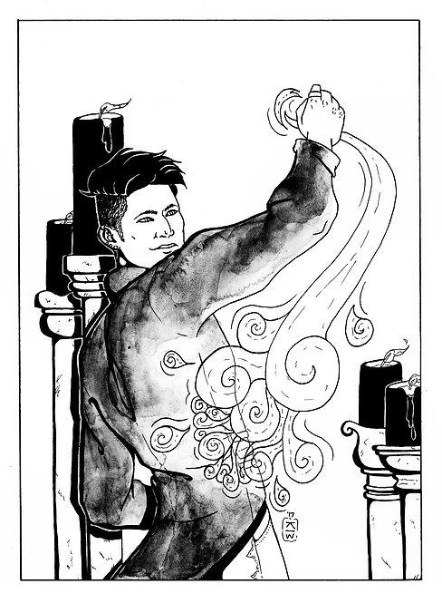 Magnus Bane Inktober Original
