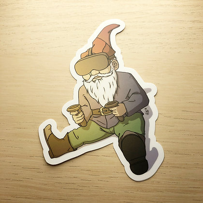 VR Gnome Sticker