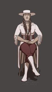 Regal Western Lady