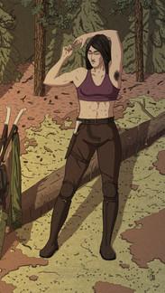 Shirtless Vivian