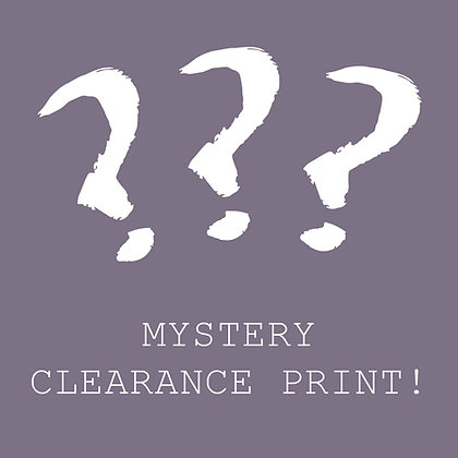 Random Clearance Print