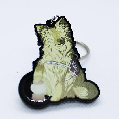 Mutt 1: Nightmare Service Dog | Acrylic Charm | Acrylic Keychain | Keychain
