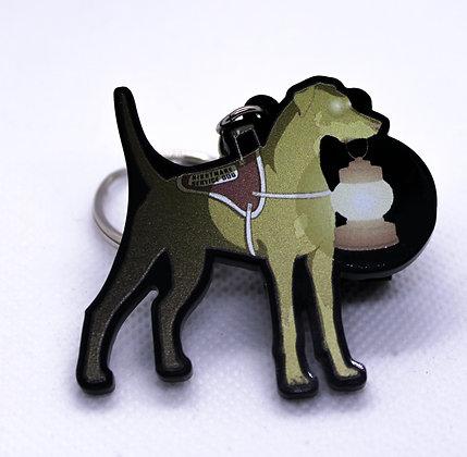 Doberman: Nightmare Service Dog | Acrylic Charm | Acrylic Keychain | Keychain