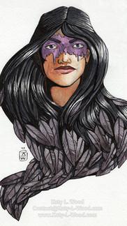 Vivian Feathered Hair
