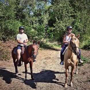 Horseback Ride on the Slopes of Volcano Vesuvius