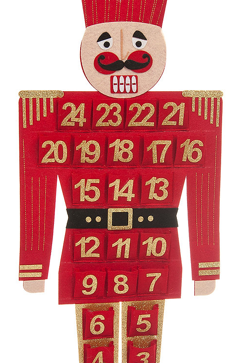 Red Advent Calendar Soldier
