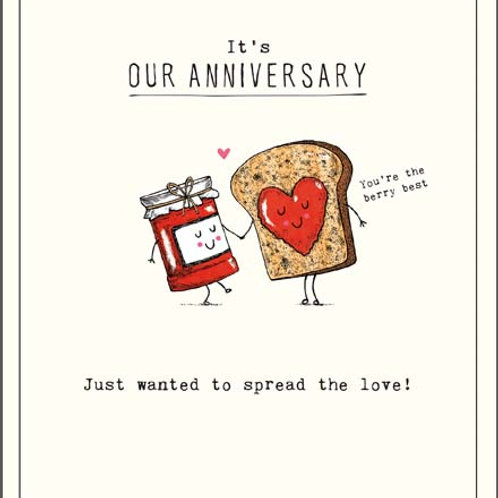 Card - It's Our Anniversary