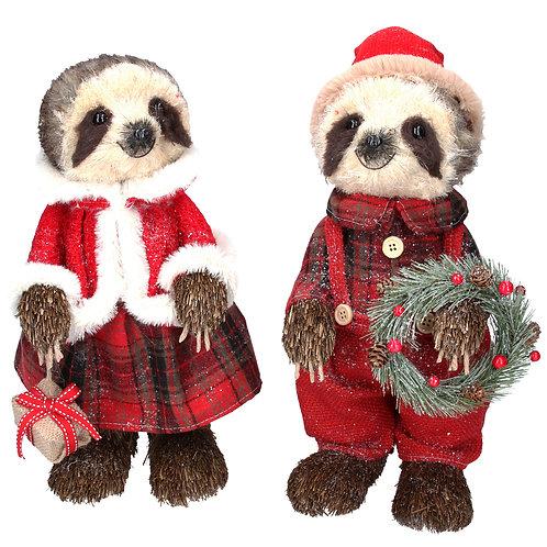 Bristle Dressed SlothOrnament