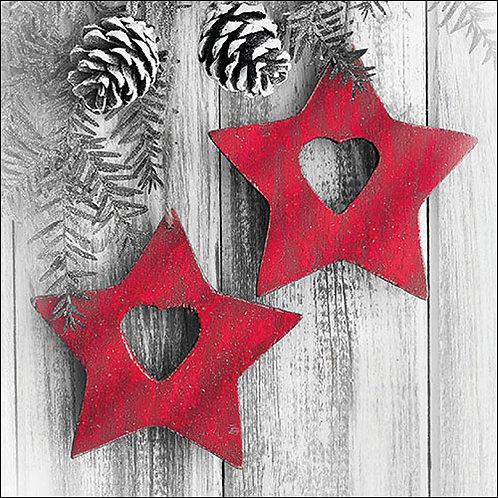 Red Star Napkin