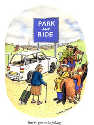 Oliver Preston - Park & Ride!
