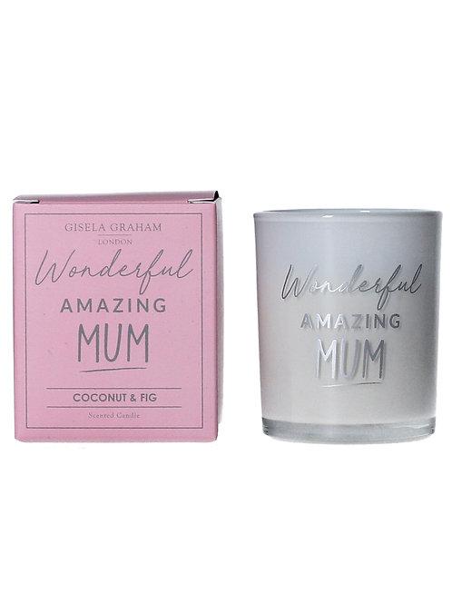 Candle - Mum Mini Scented Boxed Candle Pot