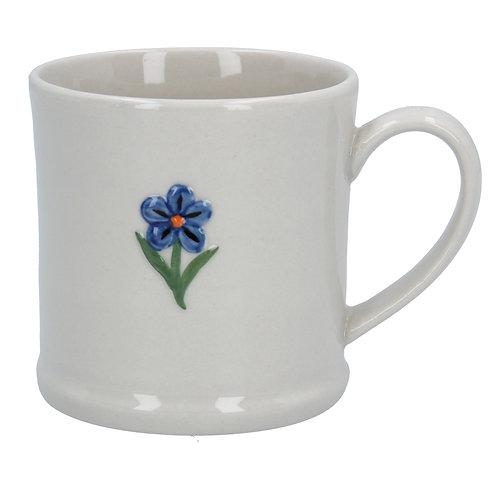 Ceramic Mini Mug - Forget Me not/Ladybird