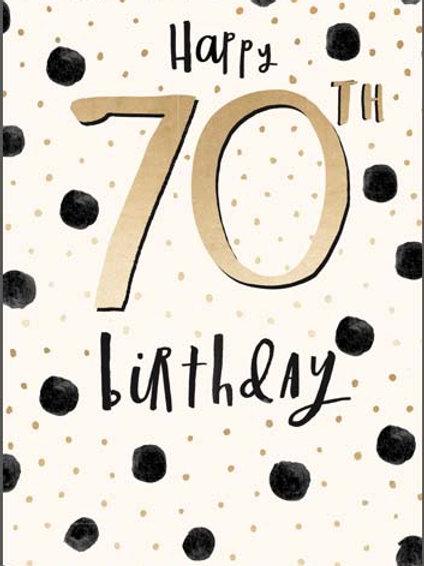 Card - 70th
