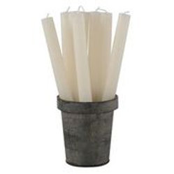 RusticDinner Candle - Ivory