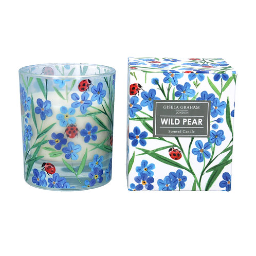 Scented Candle Large  - Wild Pear/Forget Me Not