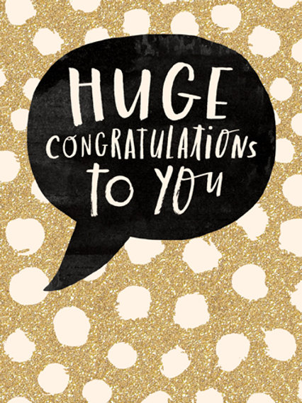 Card - Huge Congratulations to you
