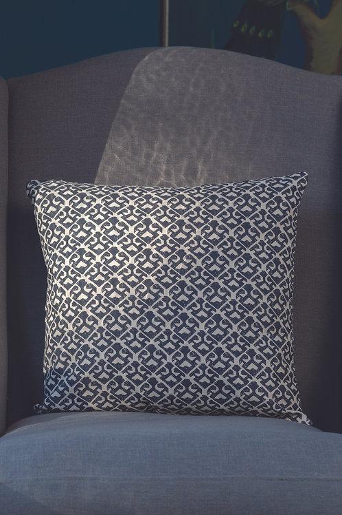 Square Cushion Parga Pewter