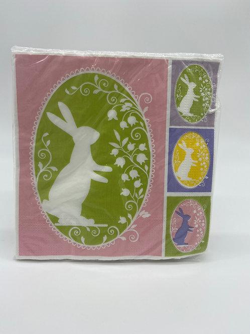 Napkins - Easter Bunnies