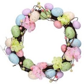 Wreath -Spring Eggs