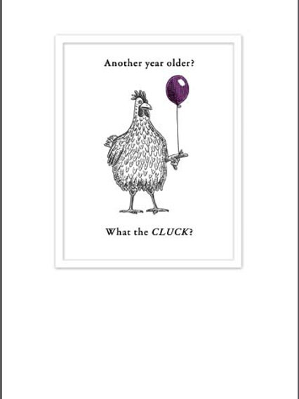 Card -Another Year Older?