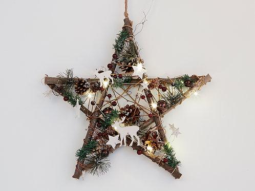 Woodland Star Wreath