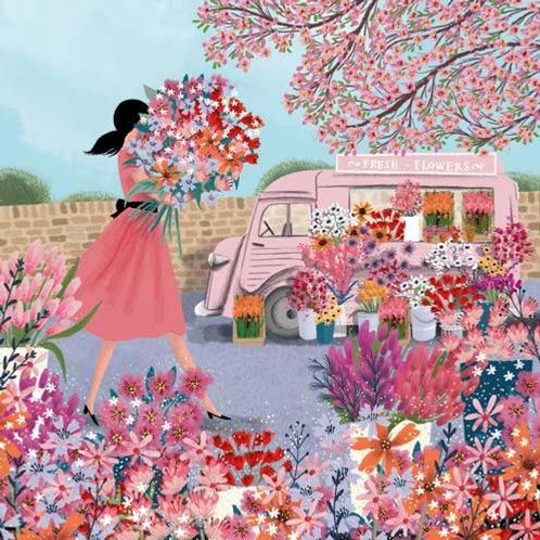 Card - Fresh Flowers