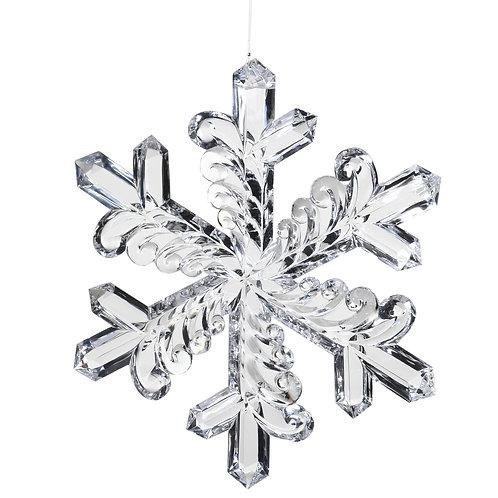 AcrylicHanging Snowflake