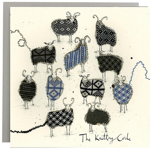 Ann Wright Card - The Knitting Circle
