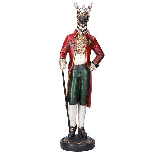 Gentleman Zebra Ornament