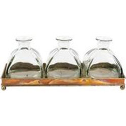 Tray with Three Bottles